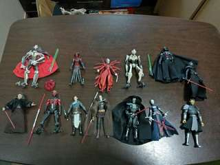 Star Wars Sith Lot