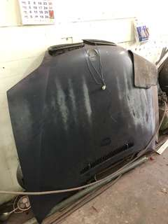 BMW E46 Front Hood and Rear Bonet