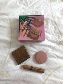 Tarte Amazonian Clay Bronzer, Blush and Mascara