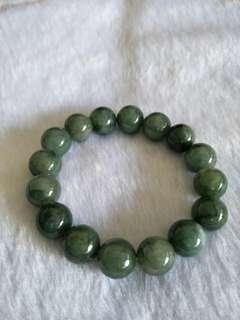 Offer 20% $144 Grade A Jadeite Bracelet玉珠
