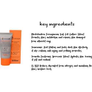 BIOCROWN Sun Protection Cream SPF50 30ml