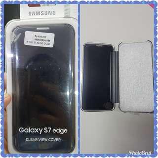 Samsung Galaxy S7 Edge Clear View Cover Original 100%