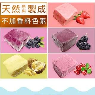 水果磚塊冰