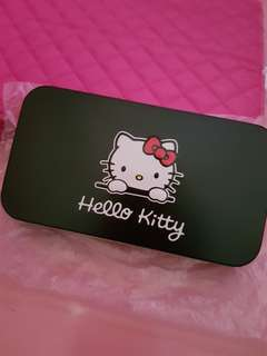 Brand New Hello Kitty Make up Brush Set