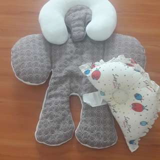 Baby support cushion and pillow