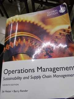 Buku cetak Operations Management