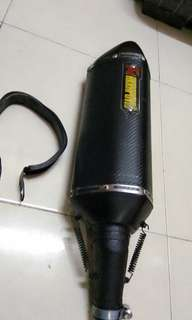 Exhaust kawasaki Z250 akrapovic for sale