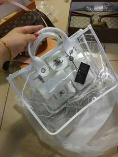TRANSPARENT LUXURY BAG