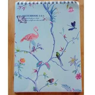 Flamingo Sketchpad (New, still in plastic)