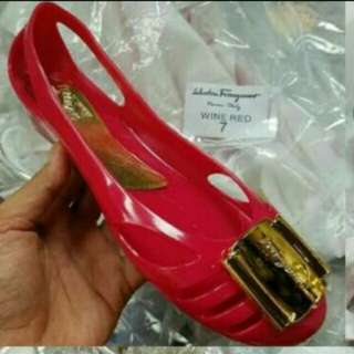 Selfatore ferragamo Jelly shoes