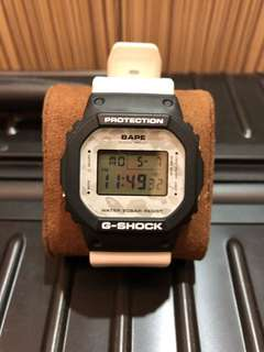 g shock collaboration with A bathing ape