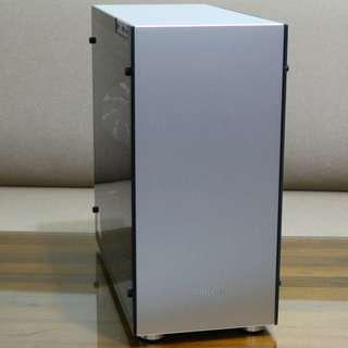 喬思伯 Jonsbo C4 ATX(4小) 鋁鎂合金機殼 全景透側銀色