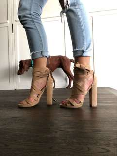 Windsor Smith Suede Leather Heels
