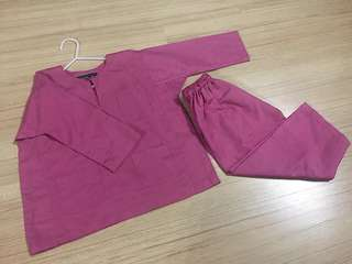 Baju melayu- kain cotton sejuk