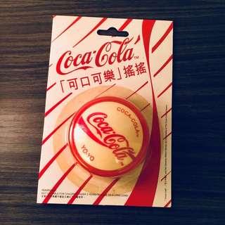 Coca Cola Yo-yo white