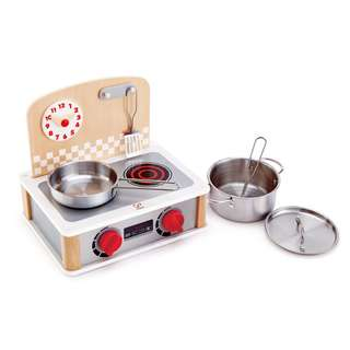 2-in-1 Kitchen & Grill Set - Hape
