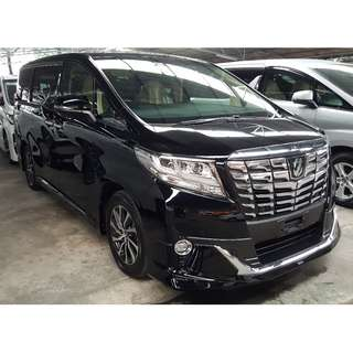 TOYOTA ALPHARD 3.5 EXECUTIVE LOUNGE FULLY LOADED (A) OFFER UNREG 2017
