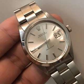 Rolex 6694 上練錶34mm全原裝沒有翻寫面 靚仔行走正常連78350帶557表耳
