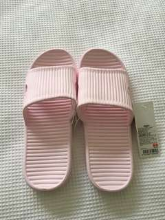 Pink Bath Slippers