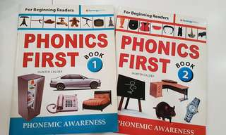 Phonics First Book 1 and 2