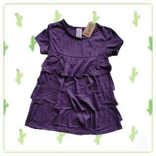 Dress tumpuk bobo kids size label 5t