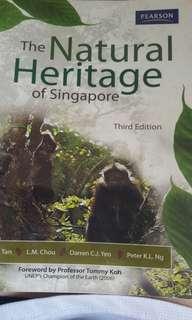 Natural heritage of singapore textbook