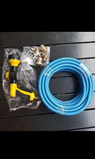 Car Wash water Hose With Spray Gun And Tap Adapters