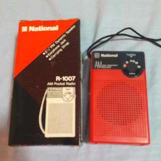 National AM Pocket Radio