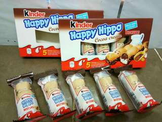 kinder hippo ~5 mini cute hippo inside
