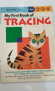 Kumon - 1st book of Tracing