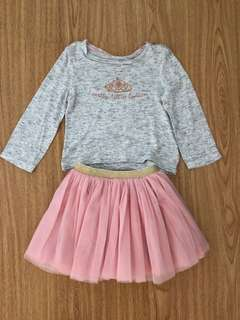 Cotton On Tutus & Long-Sleeves Top