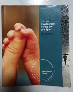 Human Development Across the Life Span Textbook