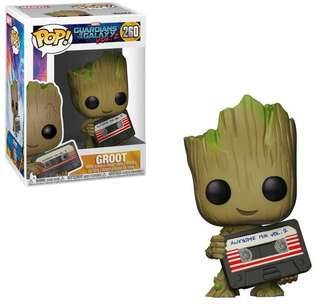 WTB Funko Pop! MCC Guardians of the Galaxy Vol.2 Groot with Mix Tape