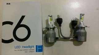 Led headlights C6 (H7) 2 kaki (H4) 3 kaki