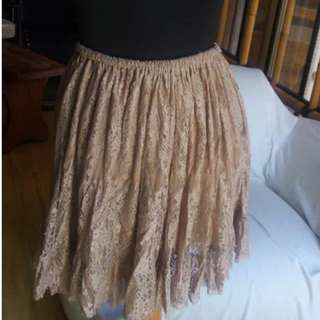 NAFNAF lace skirt