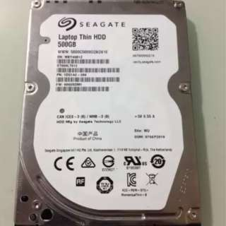 Harddisk hard disk hdd hardisk laptop 500 gb seagate