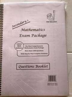 Maths exam package (Sec 1 Express) Brand new