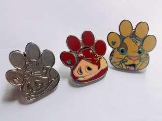 [交換優先] 迪士尼 獅子王 彭彭 pin