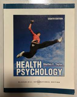 Health Psychology Textbook