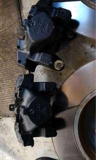SLK rear brake