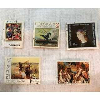 Polska Stamps Collection