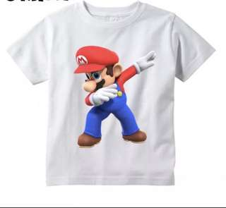 Children's Super Mario T Shirt