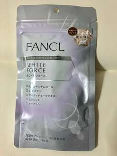 (Buy 2 $60)Fancl white force 180 tablets for 30 days