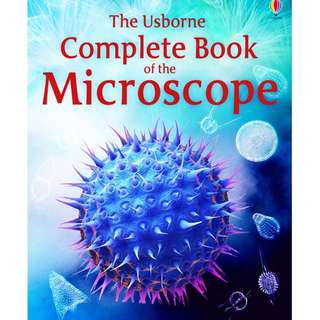 BN The Usborne Complete Book of the Microscope: Internet-Linked