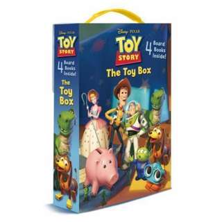 BN The Toy Box ( 4 Board Book)