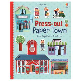 BN Usborne Press Out Paper Town