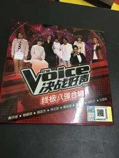 The Voice 决战好声 合辑 签名CD