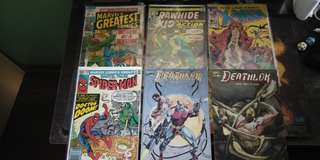 Comic book marvel Dc