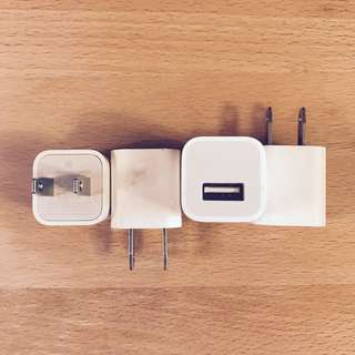 iPhone Chargers 差電器 插頭 Apple