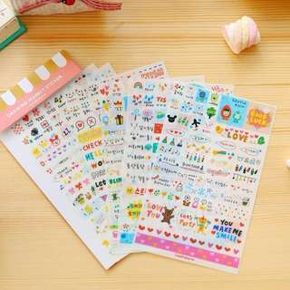 🍒CLEARANCE (instock) planner stickers